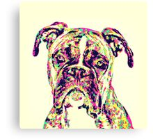 The Mighty Boxer Canvas Print