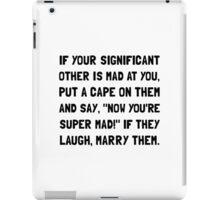 Super Mad iPad Case/Skin