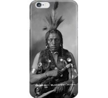 Howard King, Portrait of Cree Indian iPhone Case/Skin