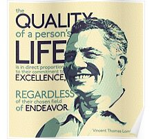 Vince Lombardi Poster