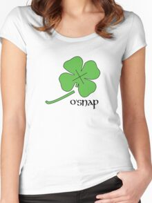 O'Snap Women's Fitted Scoop T-Shirt