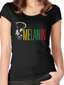 Melanin Women's Fitted Scoop T-Shirt