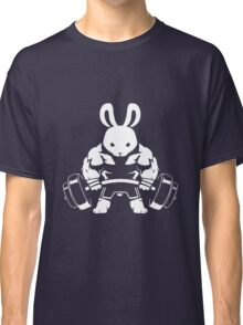 Not the average GYM BUNNY (no text) Classic T-Shirt