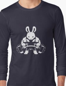 Not the average GYM BUNNY (no text) Long Sleeve T-Shirt