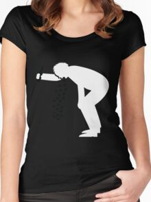St. Patty's Day Puke! Women's Fitted Scoop T-Shirt