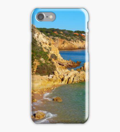 Praia dos Arrifes iPhone Case/Skin