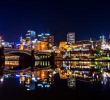 Beautiful Melburne Night II by Ewan Arnolda