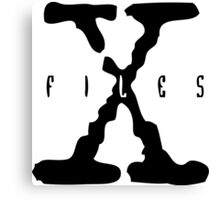 x files Canvas Print