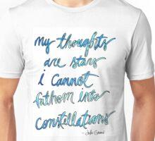 Quote, John Green Unisex T-Shirt