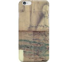 026  Map of part of eastern West Virginia extending from Romney westward to Clarksburg centering on the Rich Mountain Battle area iPhone Case/Skin