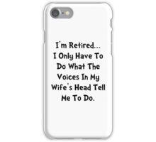Retired Wife iPhone Case/Skin