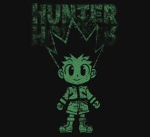 cute green hunter Kids Tee