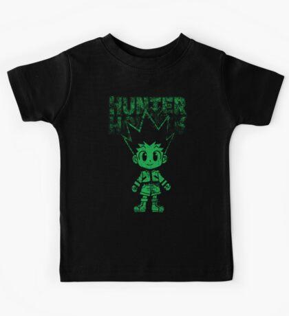 cute green hunter Kids Tee