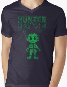 cute green hunter Mens V-Neck T-Shirt