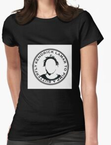 Kendrick Lamar Graphic Design Womens Fitted T-Shirt