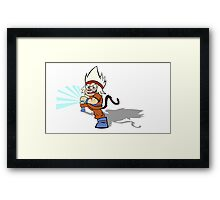GO-K.O (outline Framed Print