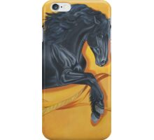 Black Stallion Dance iPhone Case/Skin