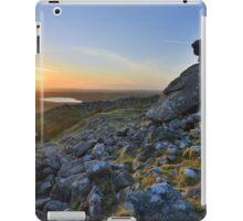 Cornwall: Showery Tor Sunset iPad Case/Skin