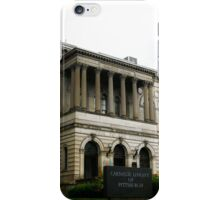 Architecture - Carnegie Library (2009) iPhone Case/Skin