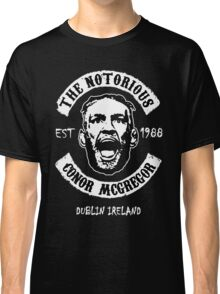 Conor Mcgregor (Printed On Front) Classic T-Shirt