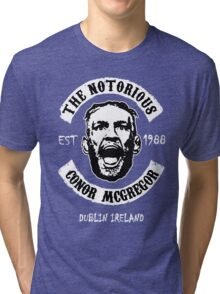 Conor Mcgregor (Printed On Front) Tri-blend T-Shirt