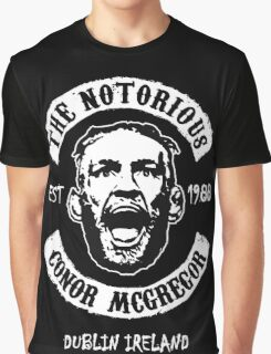 Conor Mcgregor (Printed On Front) Graphic T-Shirt