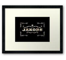 Borderlands Jakobs  Framed Print