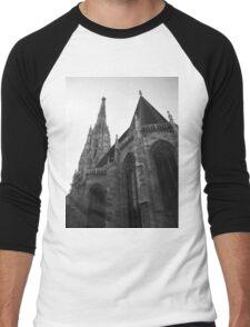 Austria - Vienna Saint Stephens Cathedral  Men's Baseball ¾ T-Shirt