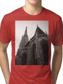 Austria - Vienna Saint Stephens Cathedral  Tri-blend T-Shirt