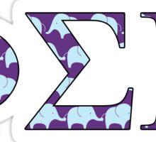 Phi Sigma Pi Elephant Print Sticker