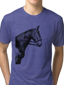 THE NOBLE HORSE(image only) Tri-blend T-Shirt