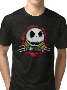 Sk8llington (collab with biticol) Tri-blend T-Shirt