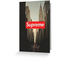 Supreme City Greeting Card
