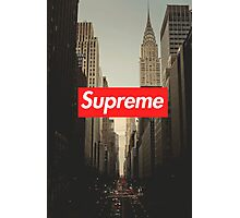 Supreme City Photographic Print