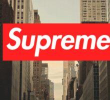 Supreme City Sticker