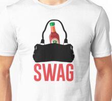 I GOT HOT SAUCE IN MY BAG, SWAG (black) Unisex T-Shirt