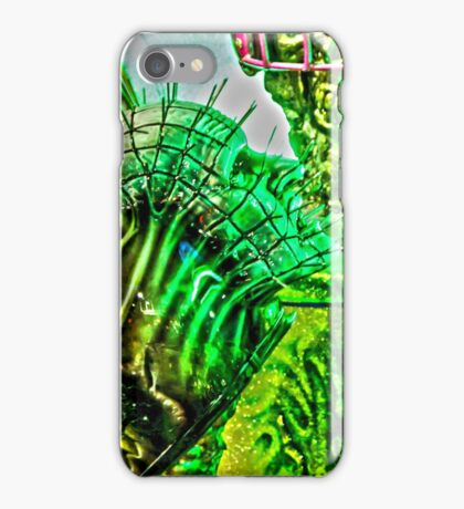 Spiked Green in HDR iPhone Case/Skin
