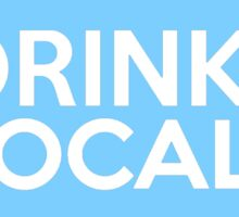 Pennsylvania Drink Local PA Blue Sticker