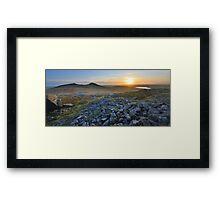 Cornwall: Sunset at Roughtor Framed Print