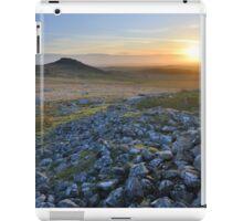 Cornwall: Sunset at Roughtor iPad Case/Skin