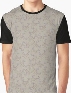 ornamental pattern deer in the pasture Graphic T-Shirt