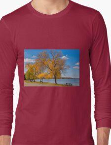 Golden Leaves Long Sleeve T-Shirt