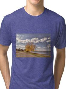 Along Cass Lake Tri-blend T-Shirt