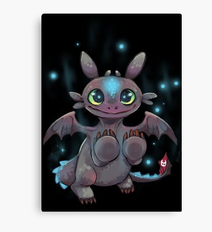 Tiny Dragon Canvas Print
