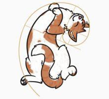 Fibonacci Cat - The Golden Ratio Kids Tee