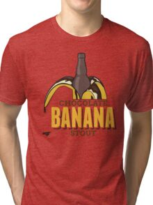 Chocolate Banana Stout Tri-blend T-Shirt