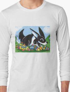 Easter Egg Bunny Long Sleeve T-Shirt