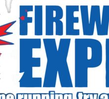 fireworks expres Sticker
