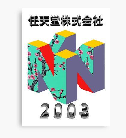 nintendo 2003 Canvas Print