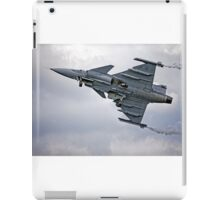 Swedish Air Force Saab JAS 39C Gripen  iPad Case/Skin